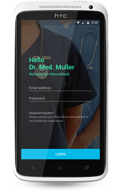 +WoundDesk Mobile App